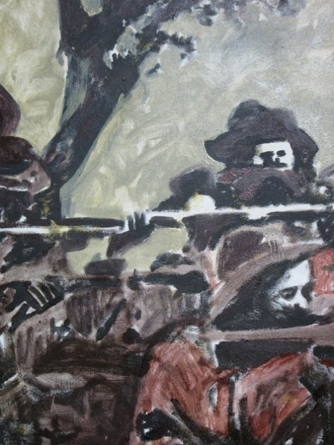 Boer fighters (detail)