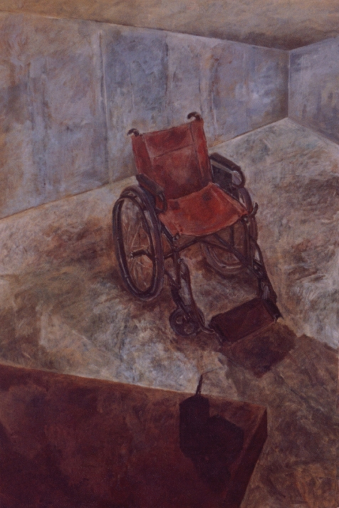 Oil on board, 1993.